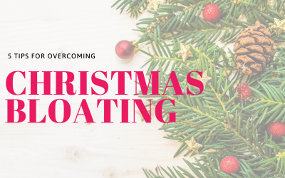 5 Tips for Overcoming Christmas Bloating